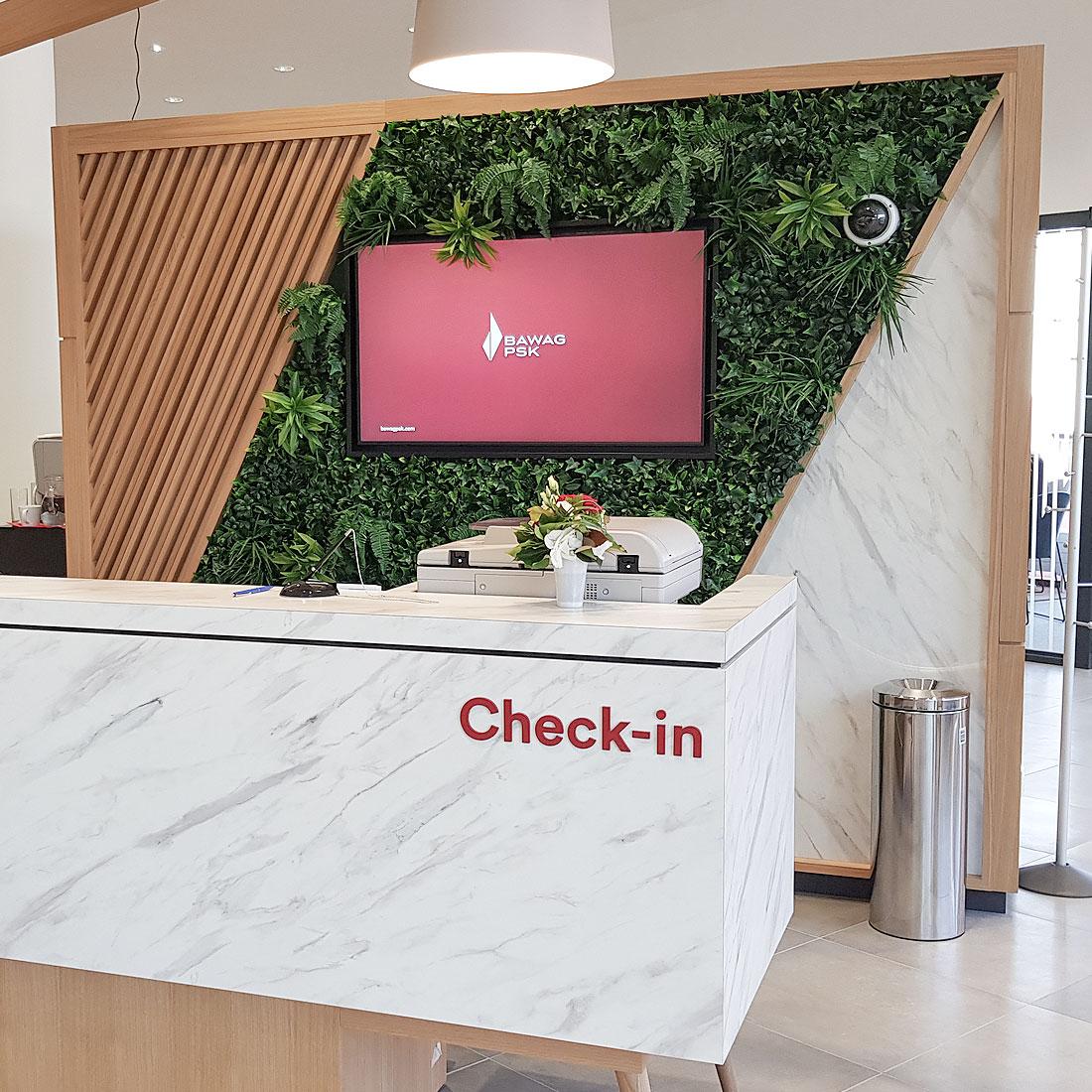 Digital Signage im Bankenumfeld - Bawag