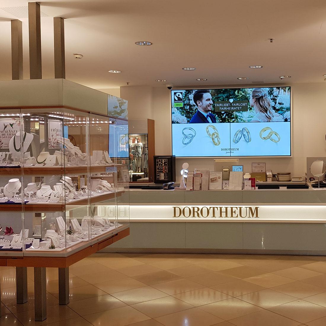 Dorotheum - Digital Signage - Österreichweit