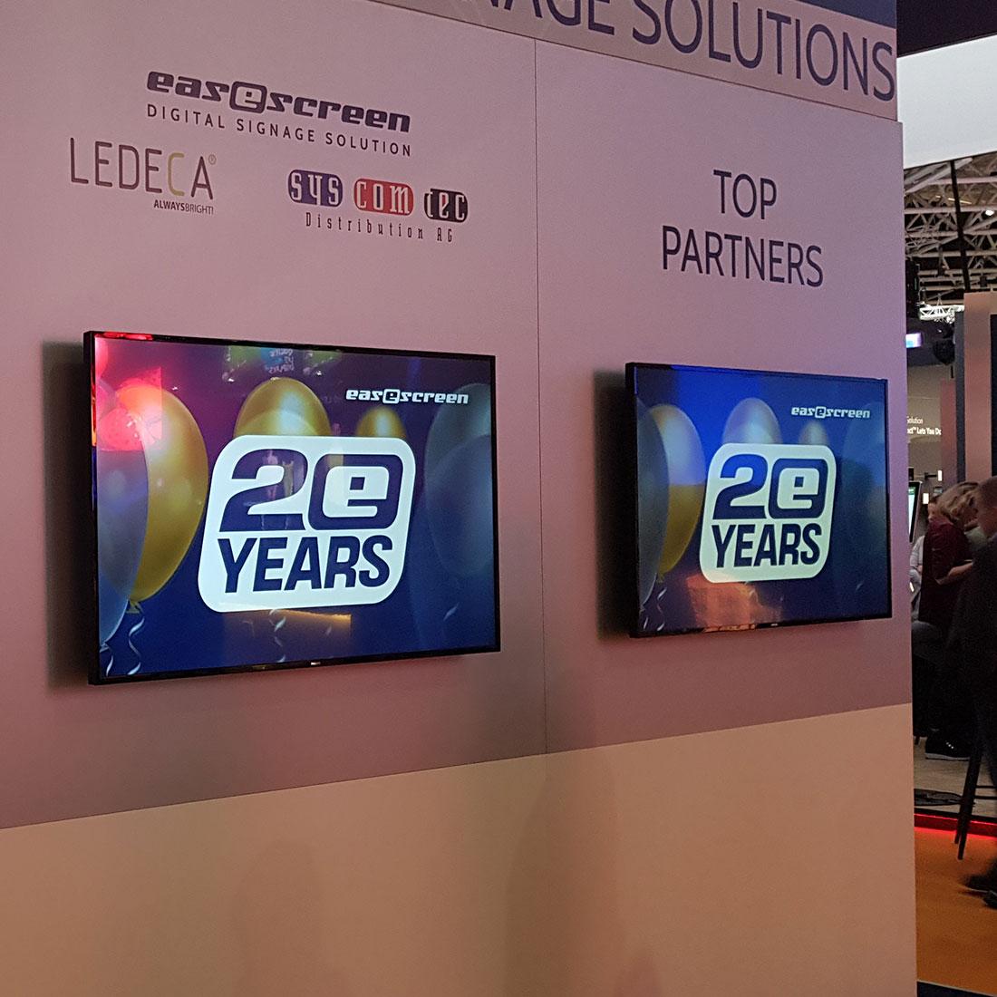 easescreen - ISE2020 - Digital Sigange